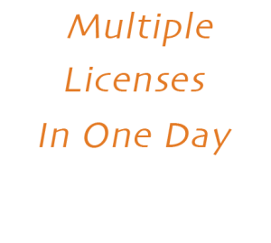 Multiple Electrician Licenses in One Day